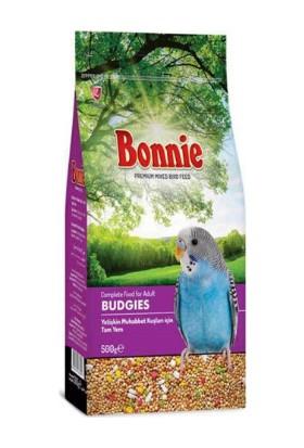 Bonnie Muhabbet Kuşu Yemi 500 gr 6'lı