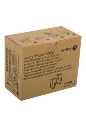 Xerox Phaser 7100N Sarı Toner Ikili Paket