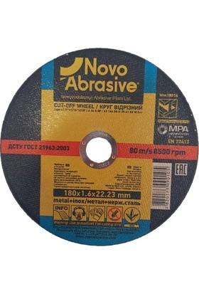 Novo Abrasive Metal + Inox Taşlama Taşı 180 x 1,6 x 22,23 mm 10'lu