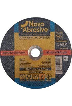 Novo Abrasive Metal + Inox Taşlama Taşı 180 x 2,0 x 22,23 mm 10'lu