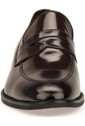 Ziya Erkek Deri Ayakkabı 9392 16526 Bordo