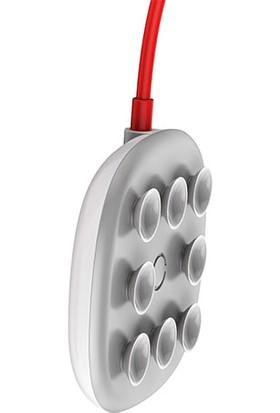Baseus Suction Cup Wireless Şarj Cihazı Beyaz