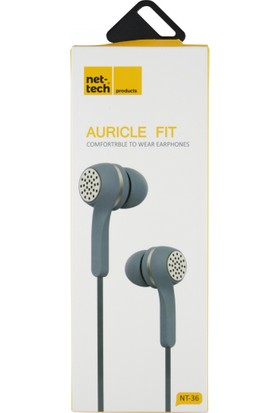 Nettech NT-36 Stereo 3.5 mm Kablolu Kulak İçi Kulaklık
