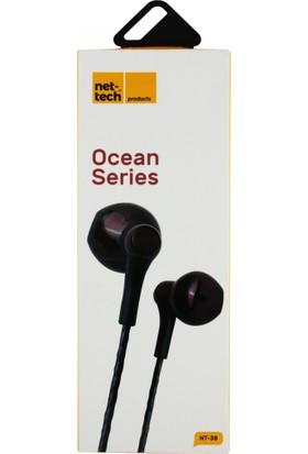 Nettech NT-38 Stereo 3.5 mm Kablolu Kulak İçi Kulaklık