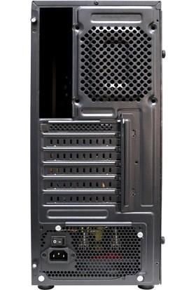 Gaming X8 300W Psu 3X32 Red Fan 2x2.0 USB Mid Tower Oyuncu Bilgisayar Kasası