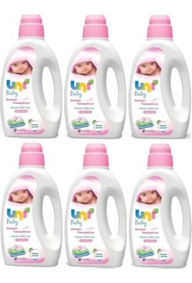 Uni Baby Çamaşır Yumuşatıcı Pembe 1800 ml - 6'lı Set