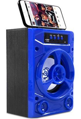 Hytech HY-S23 3W - DC 5V Mavi USB-TF Destekli Bluetooth Speaker