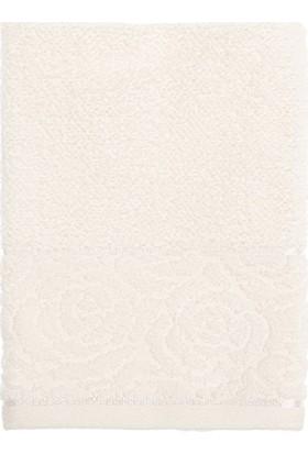 Englısh Home Rosa Stripe Jakarlı El Havlusu 30 x 40 cm Krem
