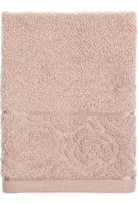 Englısh Home Rosa Stripe Jakarlı El Havlusu 30 x 40 cm Nude
