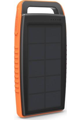 RAVPower RP-PB003 15000mAh IPX4 Outdoor Güneş Enerjili ve Led Işıklı Taşınabilir Şarj Cihazı Powerbank
