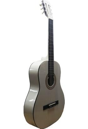 Cadenza NC139 4/4 Beyaz Klasik Gitar