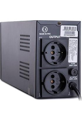 Powerful PL-800 850VA Line Interactive Ups Kesintisiz Güç Kaynağı