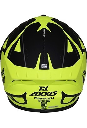 Axxis Draken Dekers Matt Fluor-Yellow L
