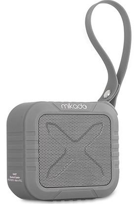 Mikado HANDY Gri 4 ,5W x 1pc,50mm 1200 mAh TF Kart, AUX Bluetooth Speaker