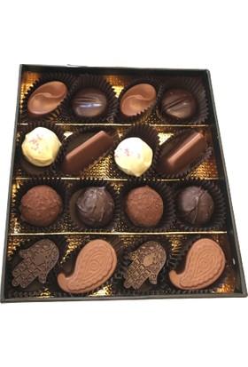 İpeksitatlar Keşfet Küçük Kutu Hediyelik Gurme Çikolata