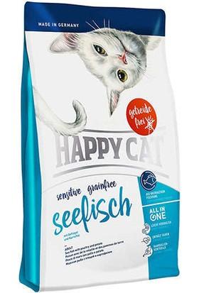 Happy Cat Seefisch Okyanus Balıklı Sensitive Tahılsız Kedi Maması 4 kg