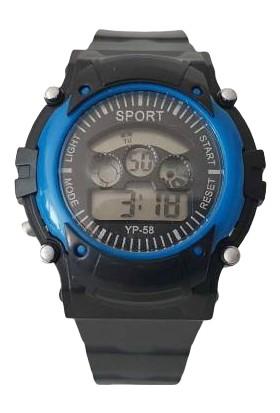 Serel Sport Dijital Çocuk Kol Saati Mavi