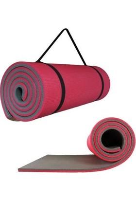 ATTACK SPORT Pilates Minderi - Egzersiz & Yoga Matı - Özel Taşıma Askılı 10 mm