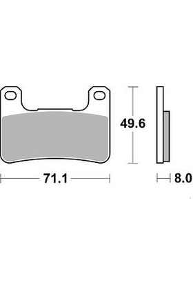 Braking Kawasakı Zx-10R 1000 Brakıng Ön Fren Balatası 2008 - 2015