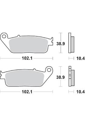 Braking Honda Silver Wıng/Abs 600 Brakıng Arka Fren Balatası 2001 - 2007