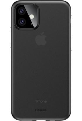 Baseus WIAPIPH61S-A01 Wing Case Apple iPhone 11 Ultra İnce Mat Kılıf Siyah