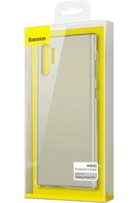 Baseus WISANote 10P-02 Samsung Galaxy Note 10 Plus Wing Case-Ultra SlimPc Kılıf Şeffaf