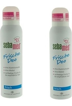 Sebamed Deodorant Sprey Aerosol Fresh 2 Adet 150 ml