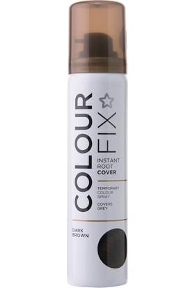 Superdrug Colour Fix Geçici Sprey Dip Boya Koyu Kahve 75 ml