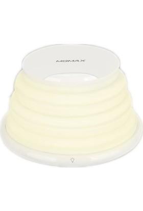 Momax Q LED Gökkuşağı Kablosuz Şarj Atmosfer Işık 10W Beyaz QL2W (Yurt Dışından)