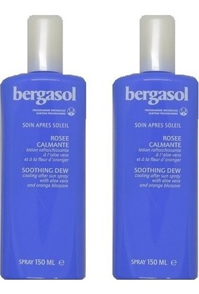 Bergasol After Sun Soothıng Sprey 150 ml - 2 Adet