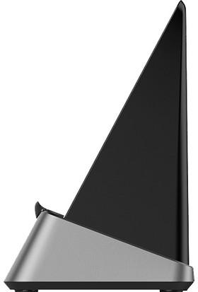 Momax Stand-Up Momax Çift Bobin Wireless Hızlı Şarj 15W Siyah UD15D Standı (Yurt Dışından)