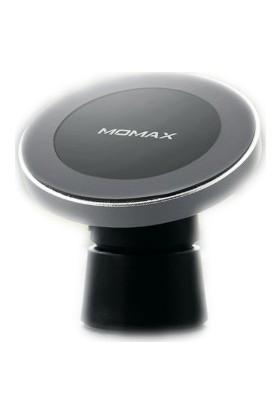 Momax Q Mount2 Manyetik Kablosuz Şarj Araç Seti Gümüş CM10S Standı (Yurt Dışından)