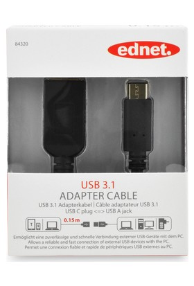 Ednet 84320 USB To Type- C Otg Kablosu