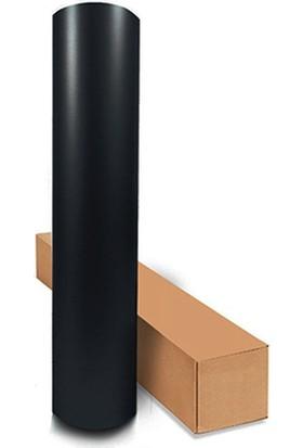 Kıraç Mat Siyah Folyo 61 cm x 3 m Yapışkanlı Kaplama Folyosu
