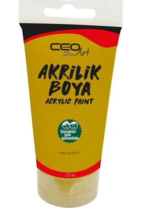 Ceo Art Akrilik Boya 75 ml - Gold