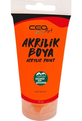 Ceo Art Akrilik Boya 75 ml - Orange