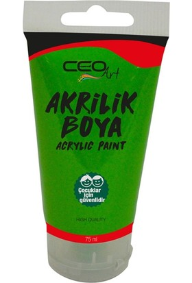 Ceo Art Akrilik Boya 75 ml - Light Green