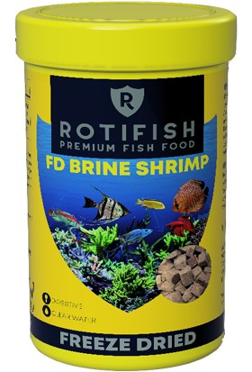 Rotifish Fd Brine Shrimp 250ML 20 gr