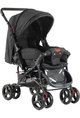 Babyhope 603 Çift Yönlü Bebek Arabası - Kahverengi