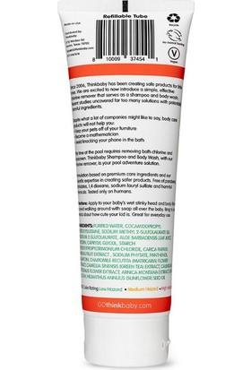 Think Baby Doğal Bebek Saç ve Vücut Şampuanı Klor Çözücü 237 ml