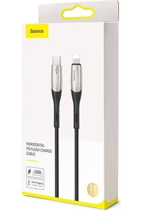 Baseus PD18W Horizontal USB Type-C To Lightning Hızlı Şarj Kablo
