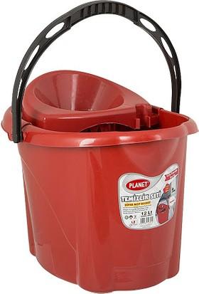 Swab Klasik Kırmızı Sıkmalı Temizlik Kovası