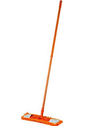 Swab Makarna Mop Büyük Boy Temizlik Seti (60 cm Makarna Mop + 60 cm Palet + Metaal Sap)