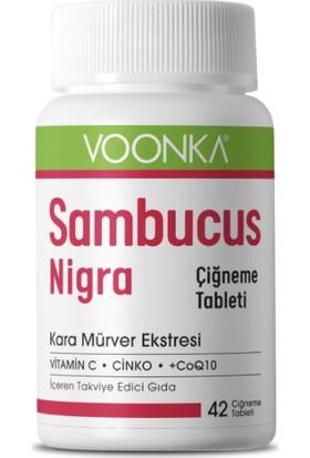 Voonka Sambucus Nigra 42 Çiğneme Tablet