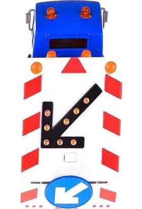 Birlik Oyuncak Işıklı Çek Bırak 2'li Metal Trafik Aracı