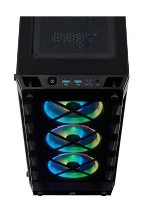 Corsair iCUE 465X MidTower RGB ATX Smart Kasa CC-9011188-WW