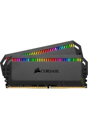 Corsair Dominator Platinium Black RGB 16GB(2X8GB) DDR4 4000MHz CL19 Ram CMT16GX4M2K4000C19