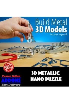 Soico Metal Maket Model İtalya Pisa Kulesi Gümüş Rengi