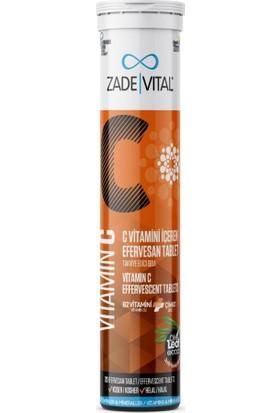 Zade Vital C Vitamini Efervesan 20 Tablet