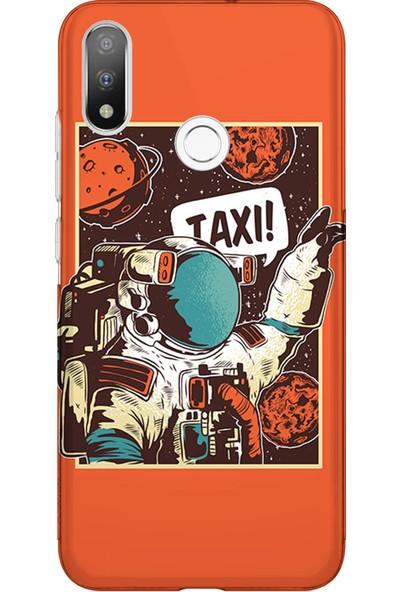 Kılıfland Casper Via A4 Kılıf Silikon Desenli Resimli Lüx Kapak Kapak Taxi - 267